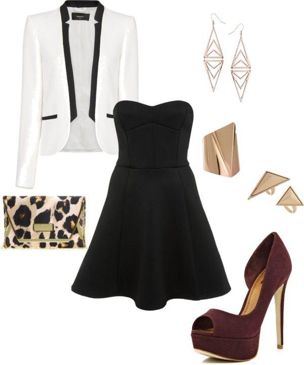 Easy Elegant Christmas Outfit Ideas. #BlackandWhiteandChicAllOver - Easy Elegant Christmas Outfit Ideas. #BlackandWhiteandChicAllOver