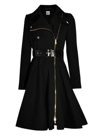Moschino Wool Blend Belted Coat Dress | I want this on me ...