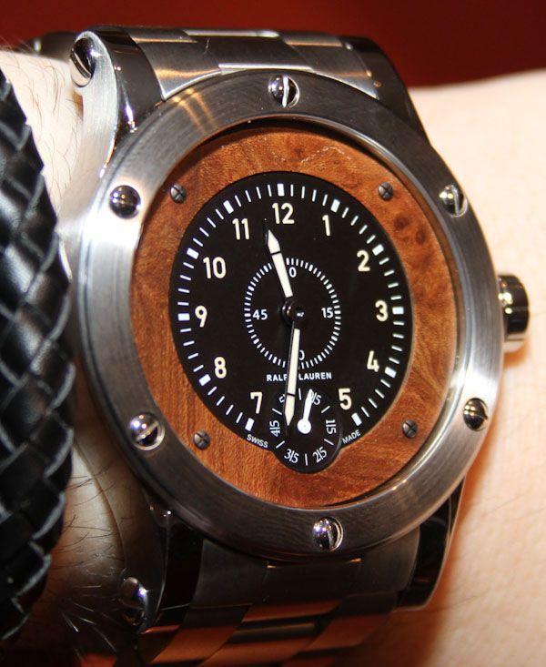 Ralph Lauren Sporting Watches For 2012 Hands-On | aBlogtoWatch