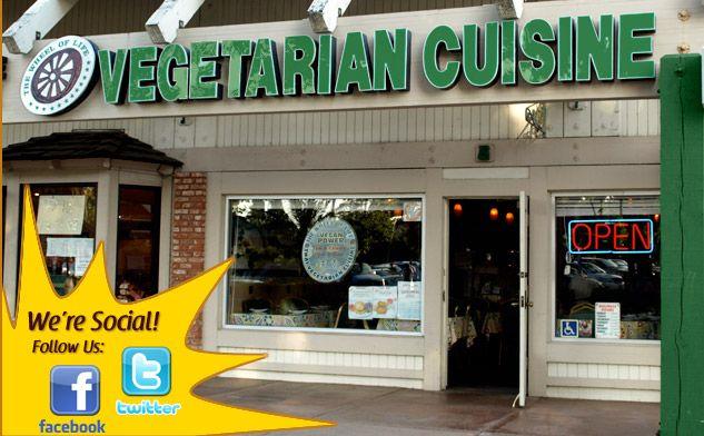 Wheel Of Life Restaurant Irvine Vegan Meats Are