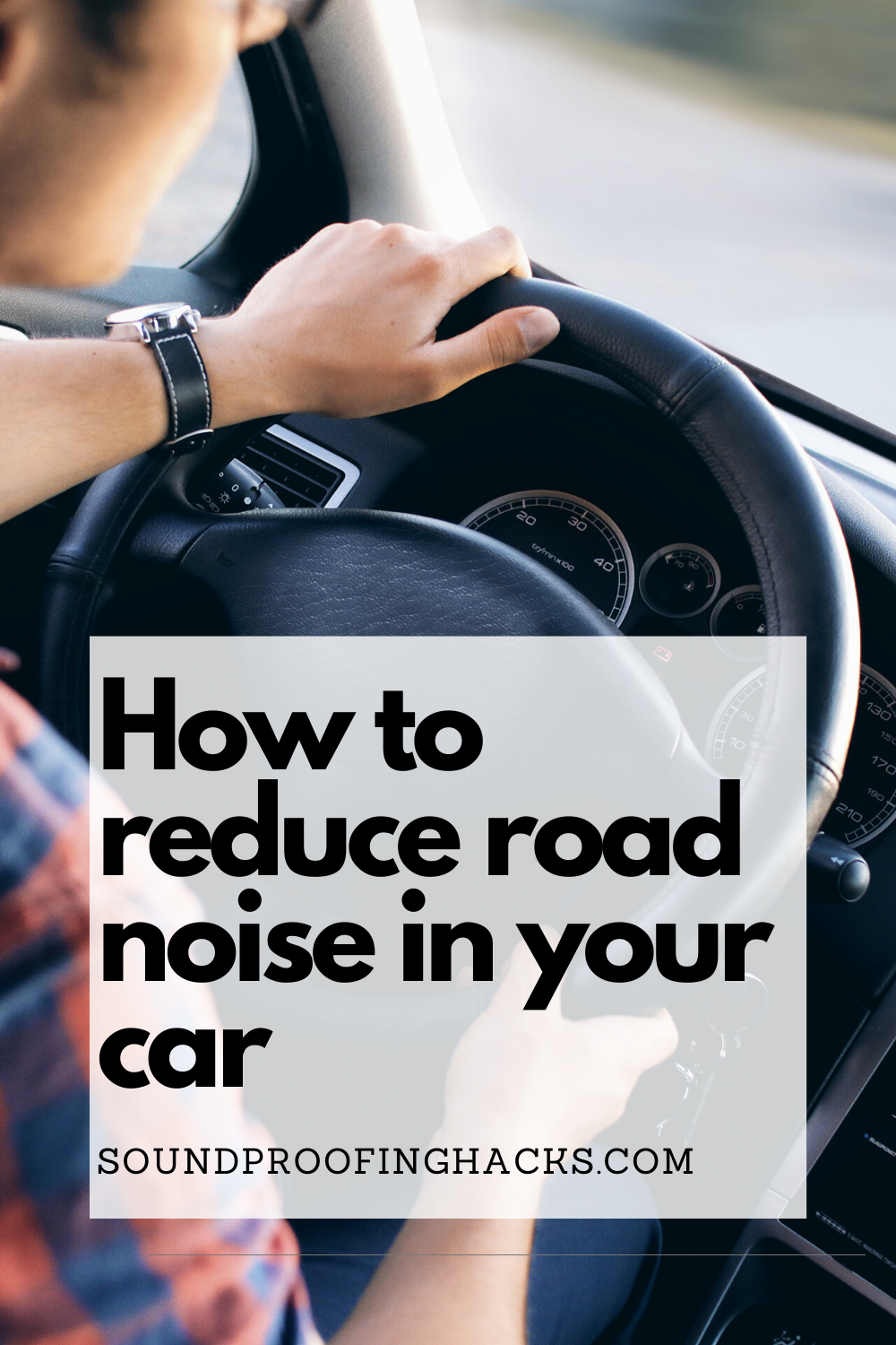 how to reduce noise in a car