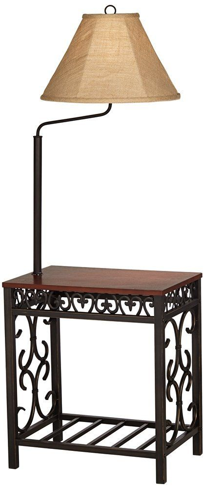 Travata End Table Floor Lamp End Table With Lamp Floor Lamp