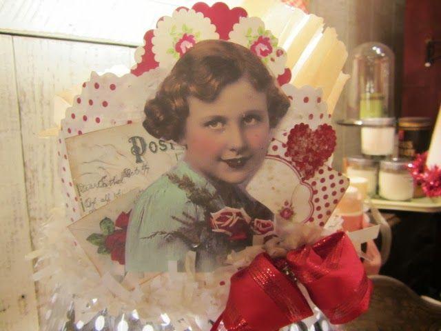 **FREE ViNTaGE DiGiTaL STaMPS** - Vintage Valentine Paper Arts...♥