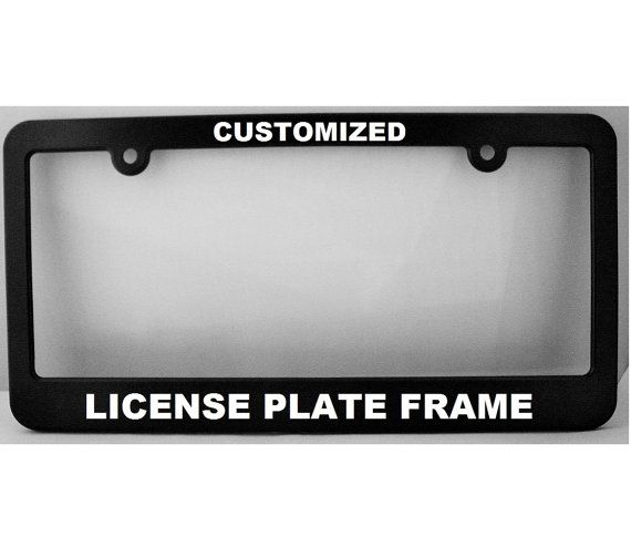 Custom License Plate Frame \ New York Style\  License Plate Holder ~ License Frame ~ Car License Plat  sc 1 st  Pinterest & Custom License Plate Frame: \