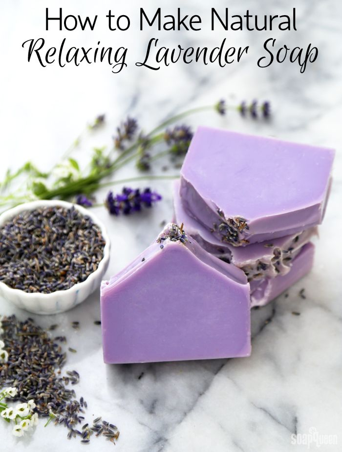 How To Make Natural Relaxing Lavender Soap Soap Queen Recipe Soap Recipes Lavender Soap Homemade Soap Recipes