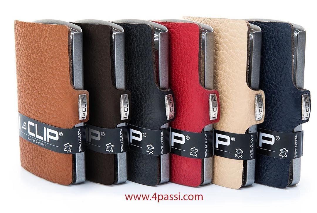 54659e039bb692 Porta carte di credito e banconote I-Clip Classic piccolo e leggero in  tanti colori