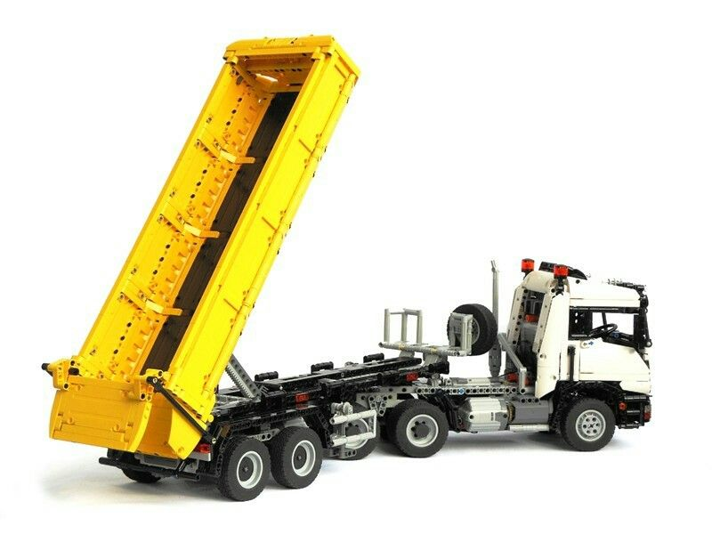 pipasseyoyo brickshelf moc technic tipper semi trailer. Black Bedroom Furniture Sets. Home Design Ideas