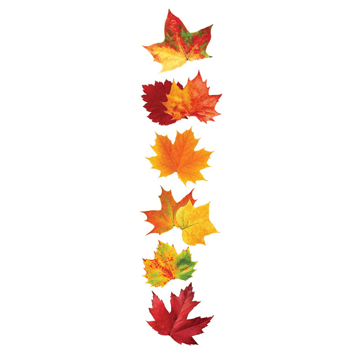 Paper House 174 3d Stickers Autumn Leaves Fall Leaves