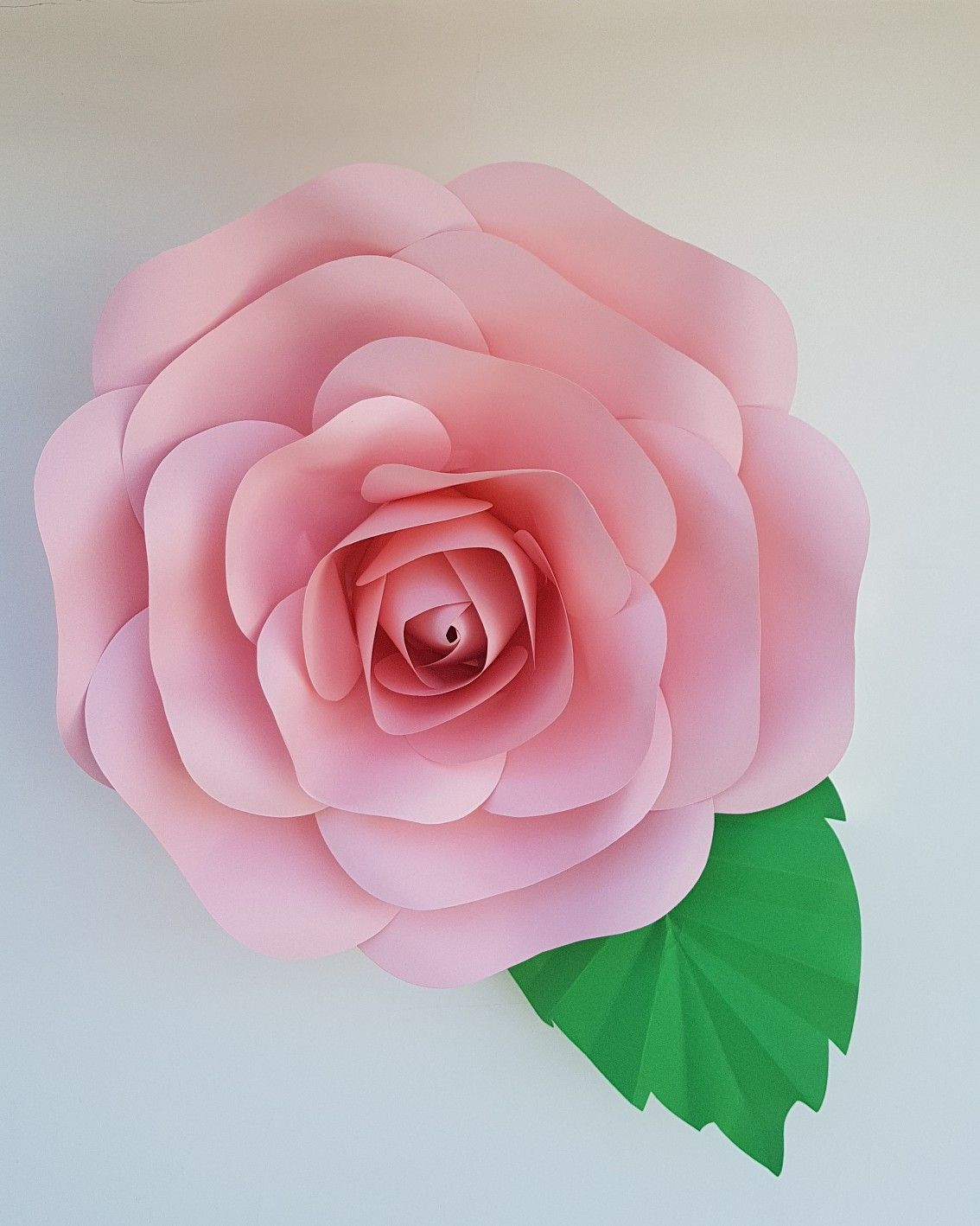 Giant Paper Flowers Paper Rose In Pink Any Colour You Can Hang On