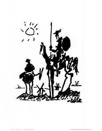 Don Quixote - Pablo Picasso
