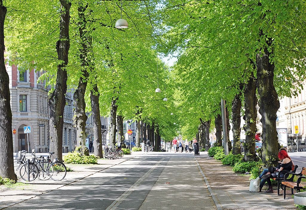 ... och vackra stenstaden Vasa
