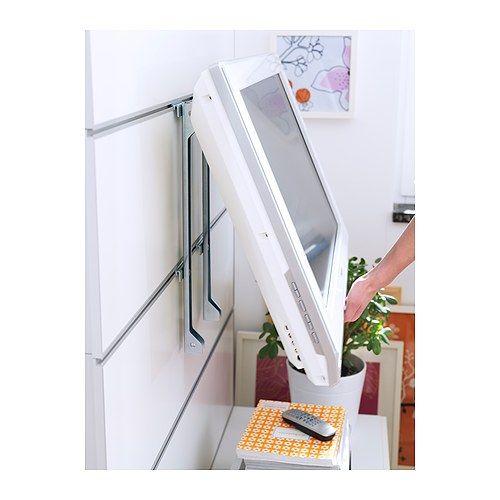 framst wall bracket for flat screen tv ikea decorating pinterest. Black Bedroom Furniture Sets. Home Design Ideas
