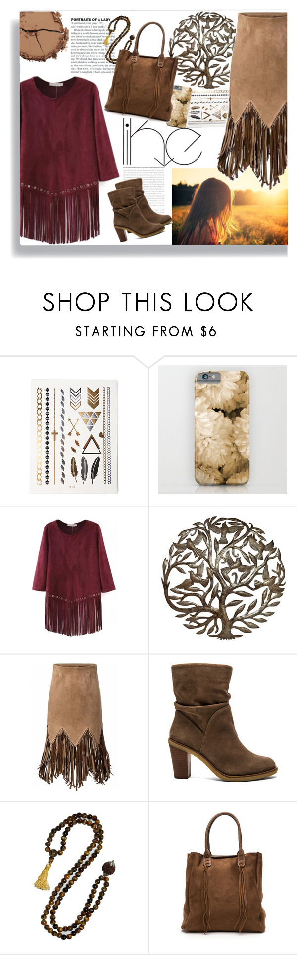 """""""fringes _ Beautiful Halo"""" by by-jwp ❤ liked on Polyvore featuring мода, Vince Camuto, Chantecaille и beautifulhalo"""