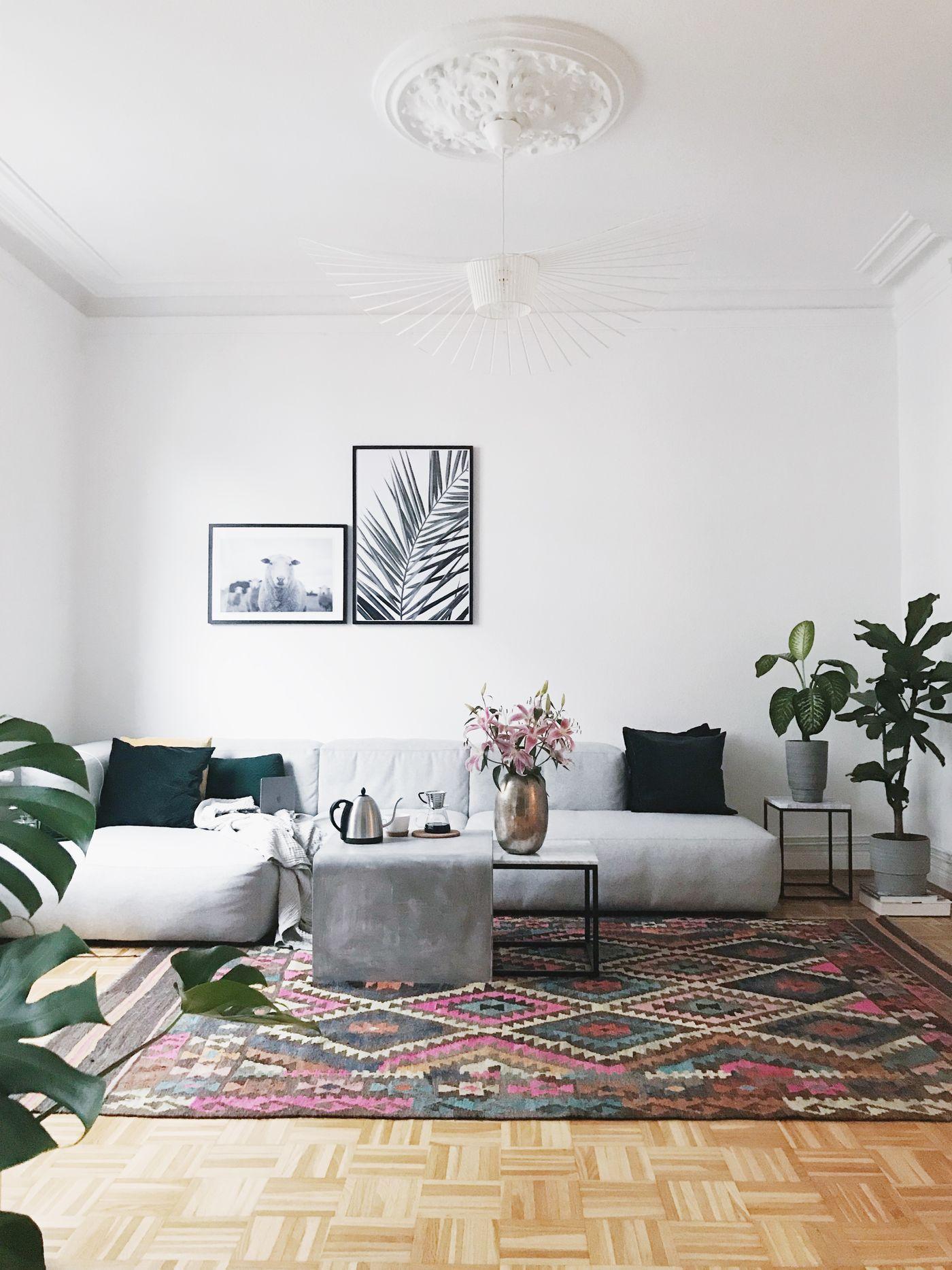 Wohnzimmer Deko Couch Ikea Kupfer Weiss Grau Fuchs Bett Als Sofa