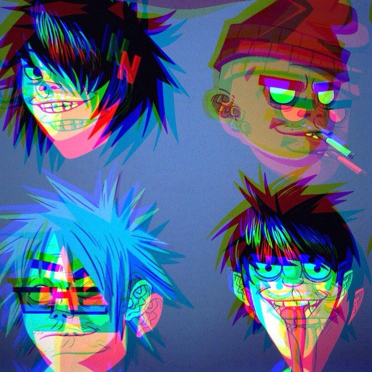 Pin by Breezy 👽 on Gorillaz (With images) Gorillaz