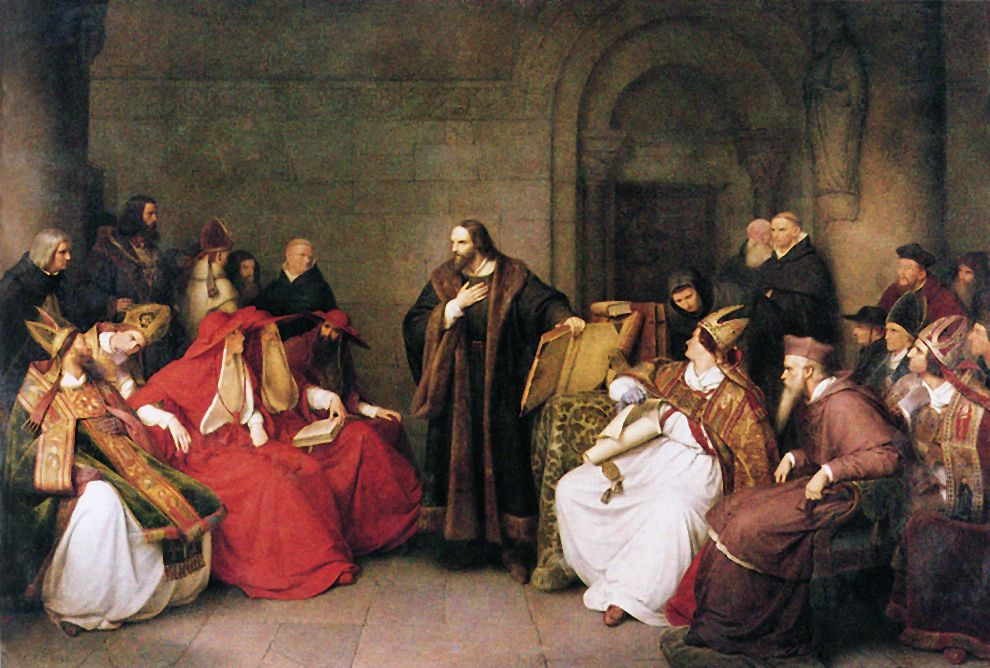Hus (Lessing 1842) - Jan Hus at the Council of Constance - kleine l küche