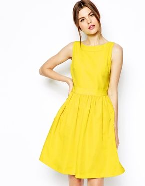 Ted Baker Prom Dress With Bow Back Detail