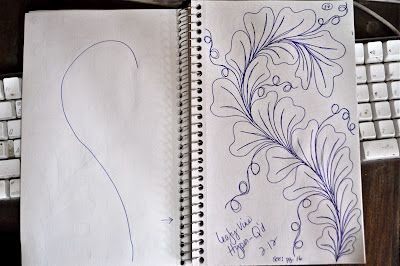 May Your Bobbin Always Be Full: Sketch Book....more Designs on Spines