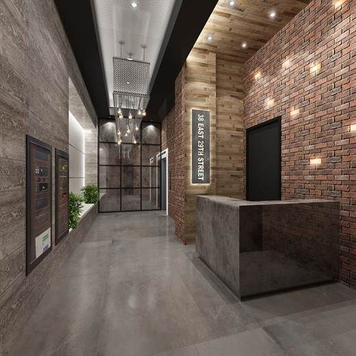 Image Result For Brick Steel Main Lobby Arep Candler