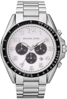 9a25716ee Relógio Michael Kors Men's MK8254 Bradshaw Silver Watch #Relogio # MichaelKors