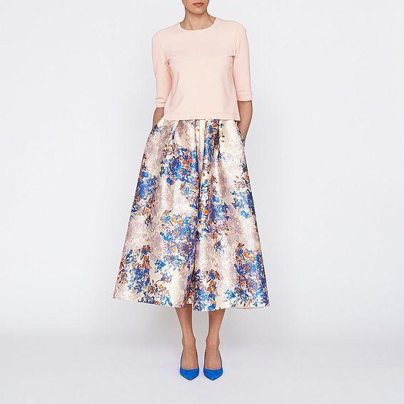 3c99a7deb5 Kenton Emilia Print Skirt | Clothing | New Arrivals | Collections |  L.K.Bennett, London