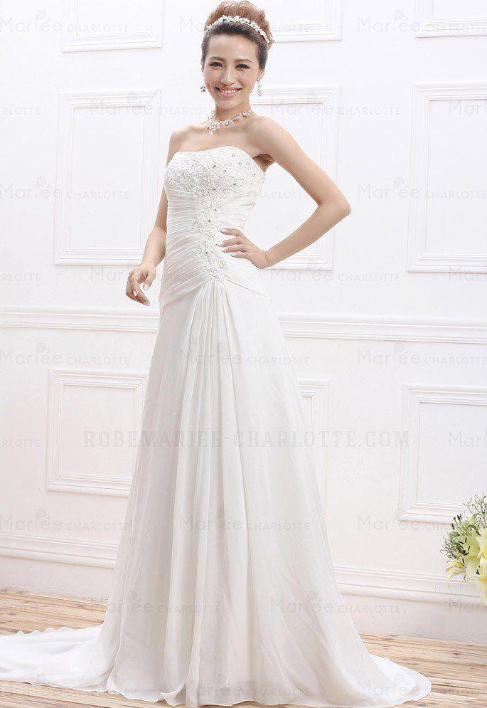 robe mariée brodée - Lilo