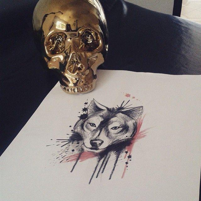 """Arte feita por <a href=""""http://instagram.com/laystattoo"""">@laystattoo</a>!  Se você fosse um animal qual você seria?"""