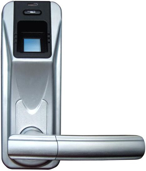 Fingerprint Door Lock (with Remote Control Function) Fingerprint weatherproof locks - Metal Security Doors \u0026 High Security Locks  sc 1 st  Pinterest & Sleek Fingerprint-Scanning Door Handle Lock ... | Technology ...
