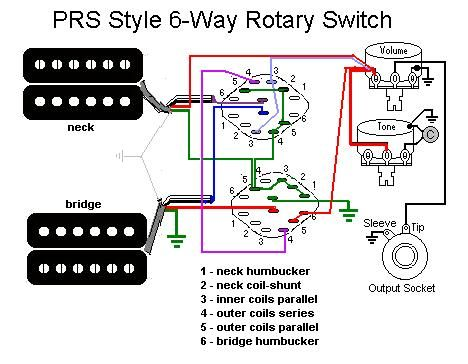 1f88d9237d20ad1ac243c27e09327111 prs 6 tones jpg (468�364) guitar mod ideas pinterest paul reed smith wiring diagram at gsmx.co