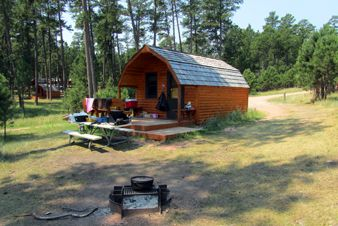 Cabin 11, Blue Bell Campground, Custer State Park