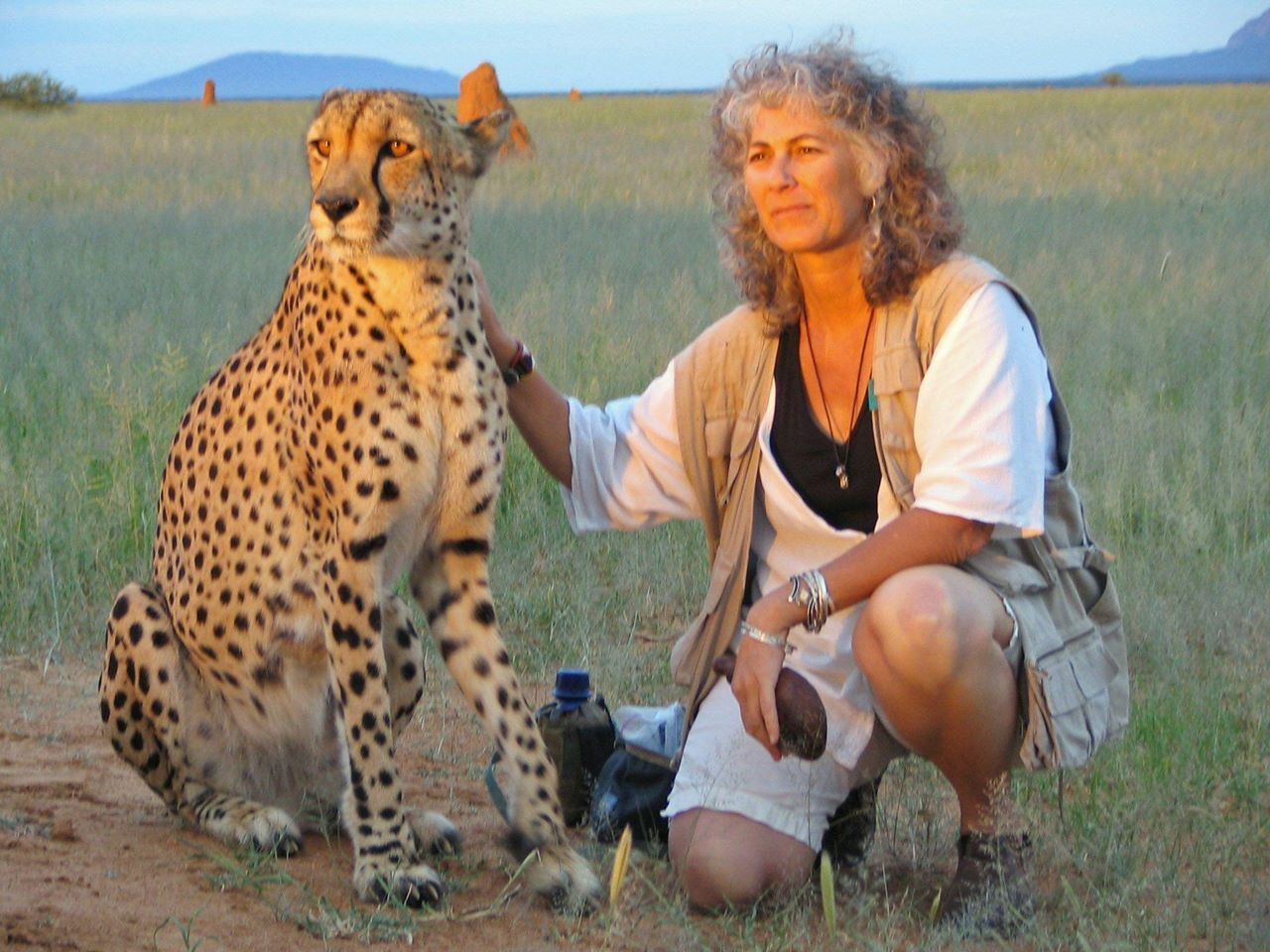 Dr. Laurie Marker Cheetah Conservation Fund www.cheetah