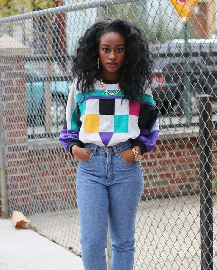 Black Girl Fashion Trends: Funky Outfits, Urban Outfits, 90s