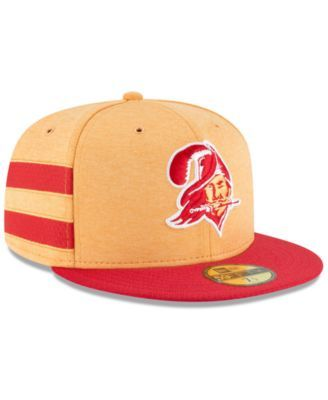 New Era Boys  Tampa Bay Buccaneers On Field Sideline Home 59FIFTY Fitted Cap  - Orange 6 1 2 7ee05f06f51d