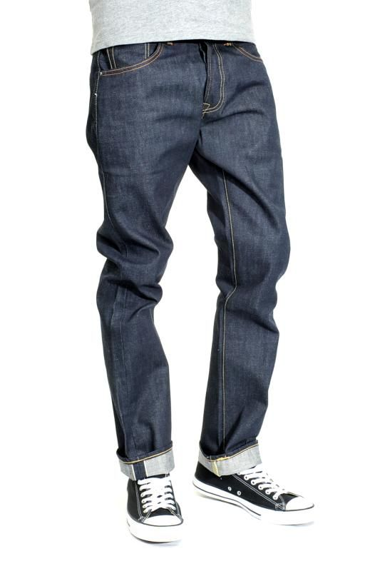 98f4c6b3cdf Levi 501 Raw Selvedge Shrink-To-Fit Mens Jeans - Long Day | Denim in ...