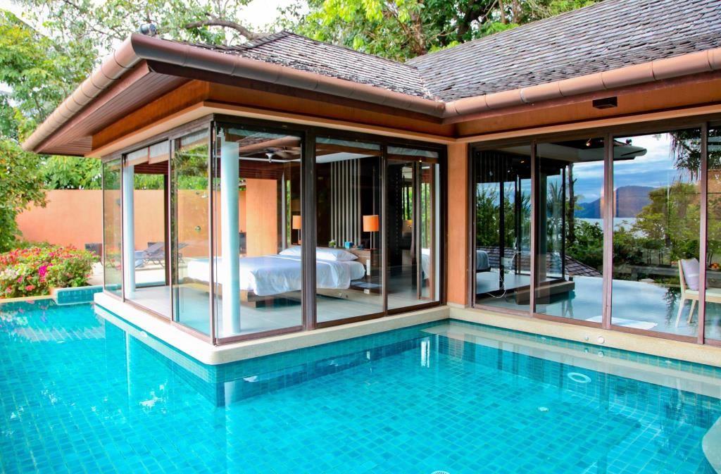 พ ลว ลลา ว วสวน ผ งห องพ ก Pool House Designs Architecture Design Pool Houses