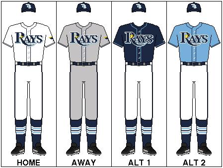 Tampa Bay Rays Uniform Tampa Bay Rays Toronto Blue Jays Blue Jays