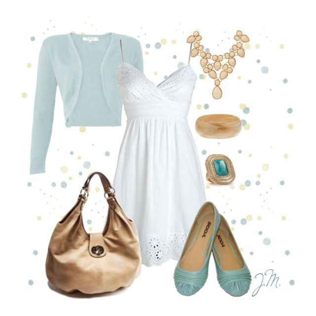 Can you tell I love this color? From polyvore