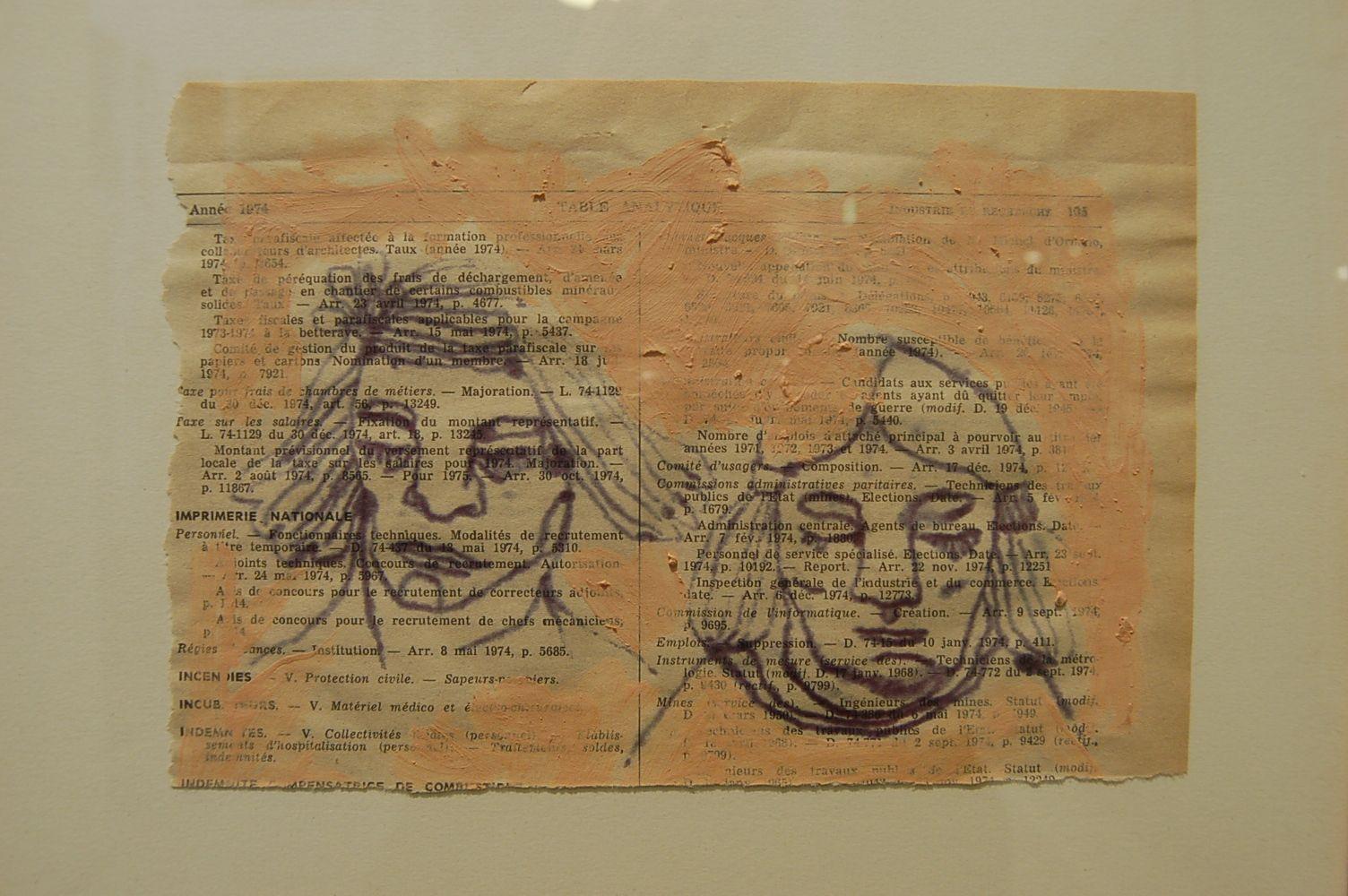 « Le passé ne passe pas » par Frede, inspiré par la boîte aux archives du père de Jacques Brédossian.