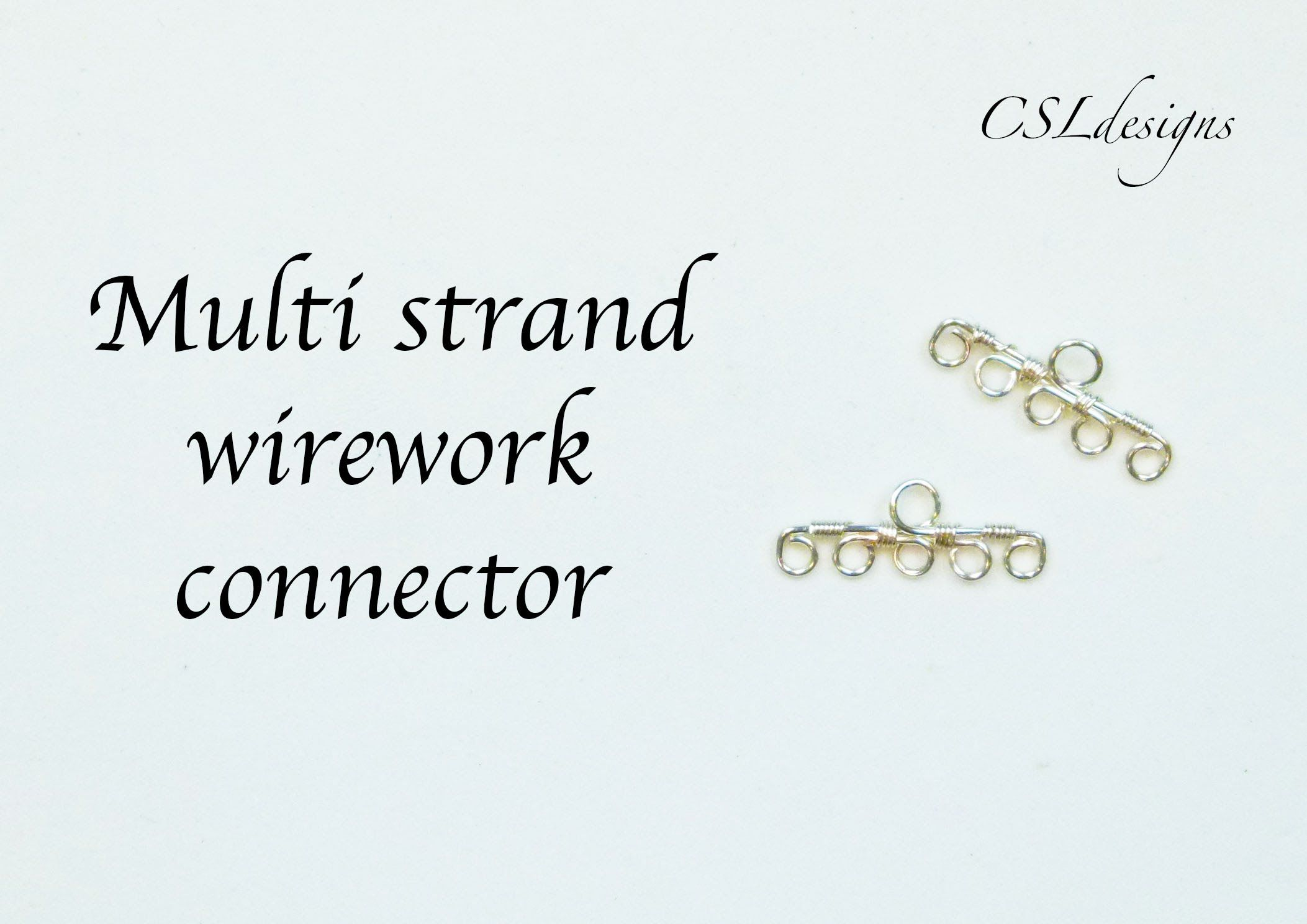 In this tutorial I show you how to make a multi strand