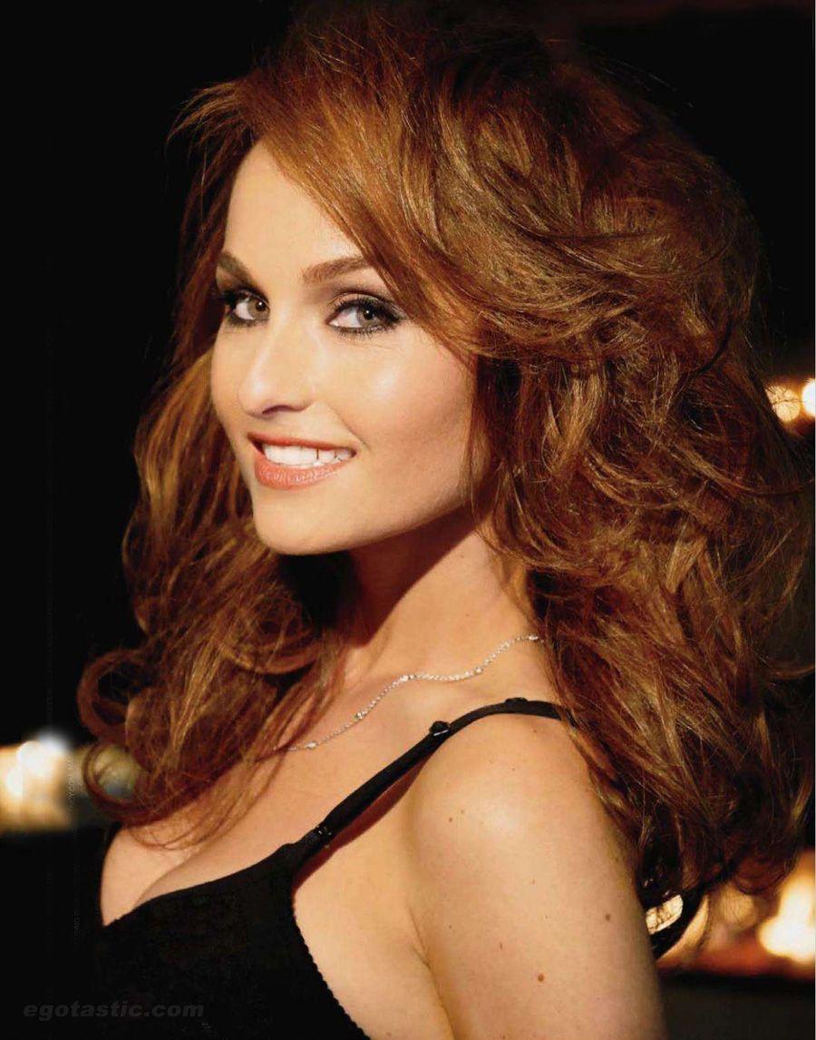 giada - golden brown voluminous hair   hair ideas   giada de