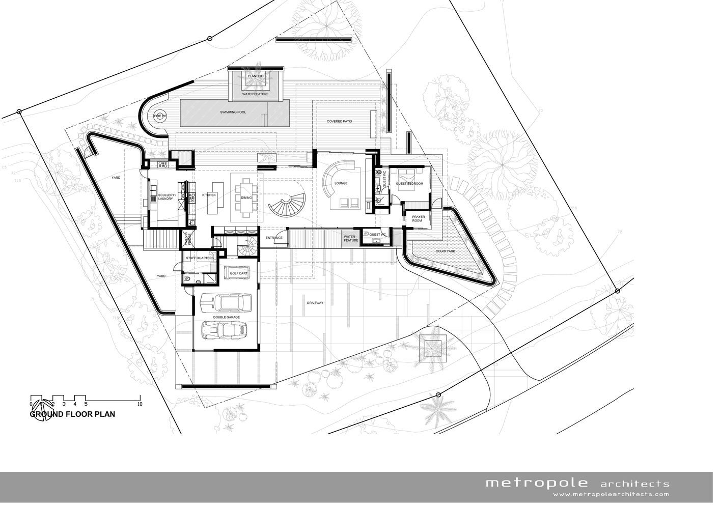 Gallery Of Palm House Metropole Architects 23 Architect Ground Floor Plan Floor Plans