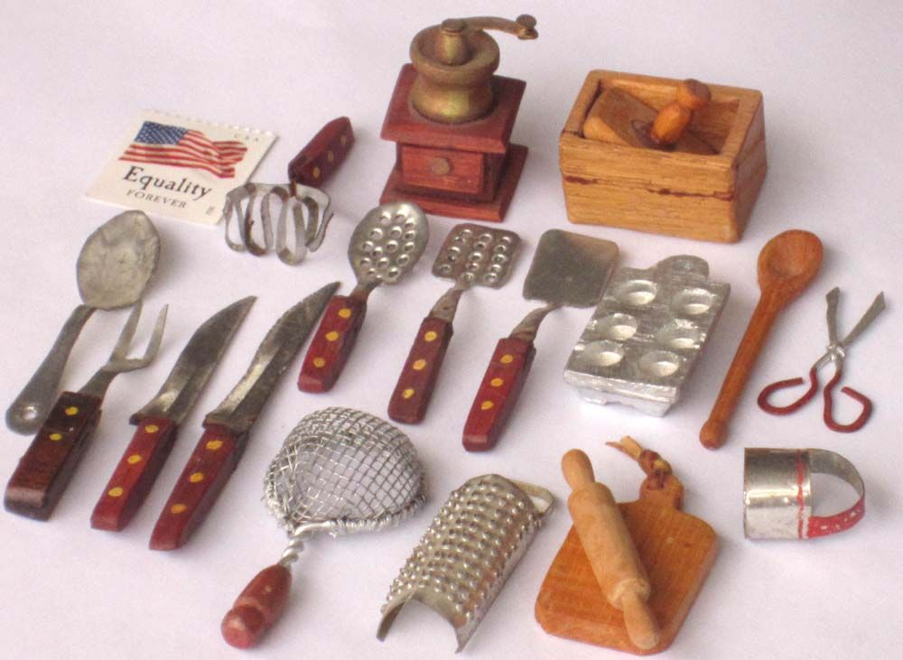 Miniature Kitchen Utensils Google Search Ideas To Charm