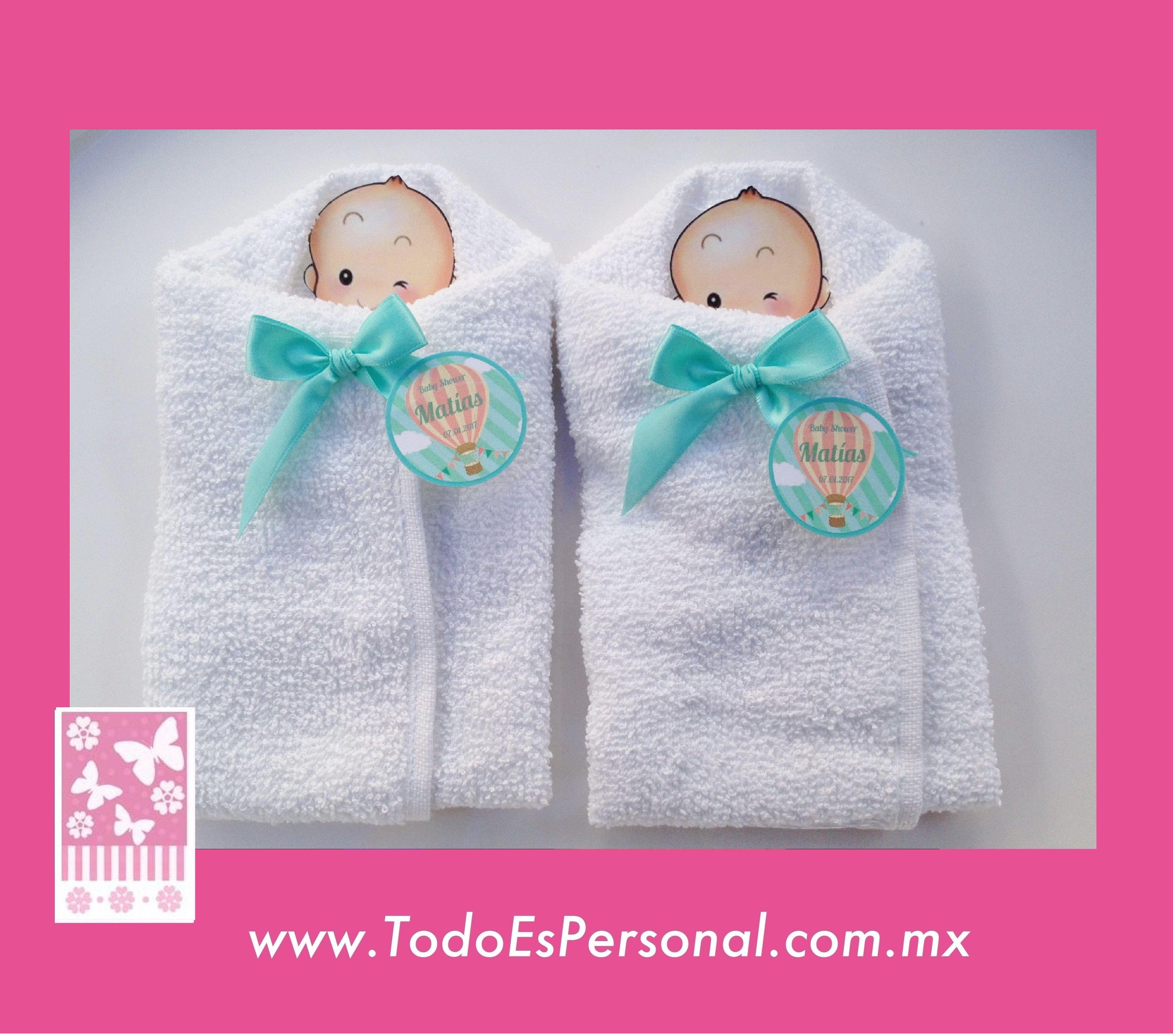 Baby Shower Recuerdos Economicos ~ Beb�s de toalla recuerdos para baby shower detalles