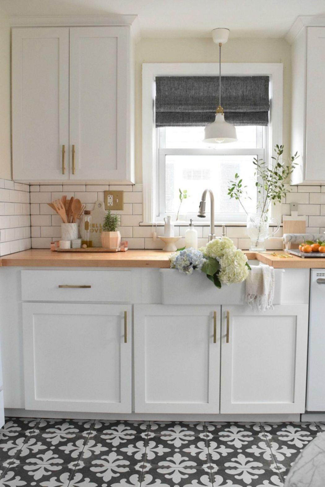 Elegant Black And White Floor Tile Color Ideas 1200 Kitchen Remodel Small Kitchen Flooring Kitchen Floor Tile