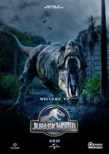 Jurassic World 2015 Hindi Dual Audio 300MB BluRay 480p ESubs