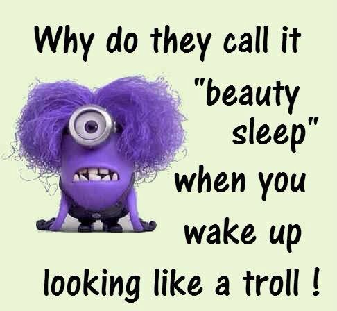 Good Morning Funny Quotes Minions  ❥Minions *¨*¸¸**¨*¸¸  Pinterest  Humor Funny