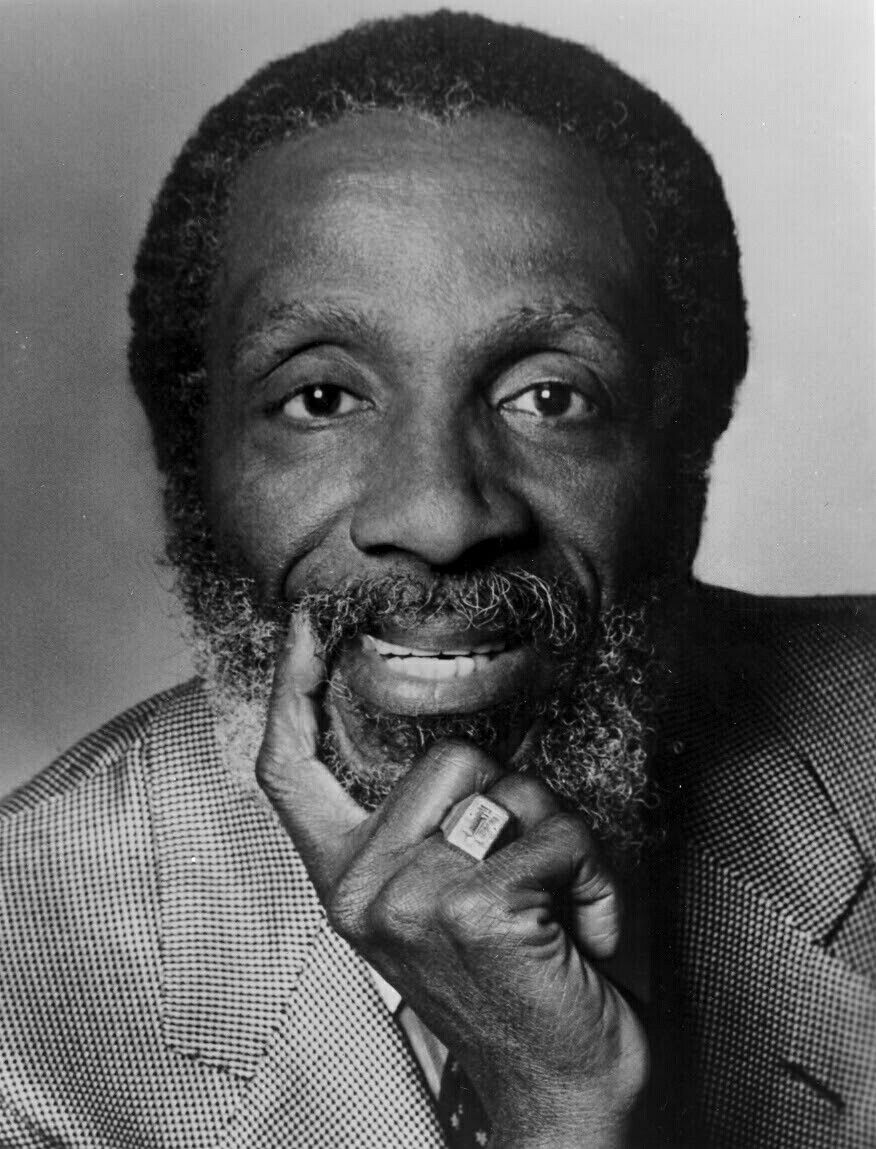 Dick Gregory, American civil rights activist, social critic, & comedian. He was