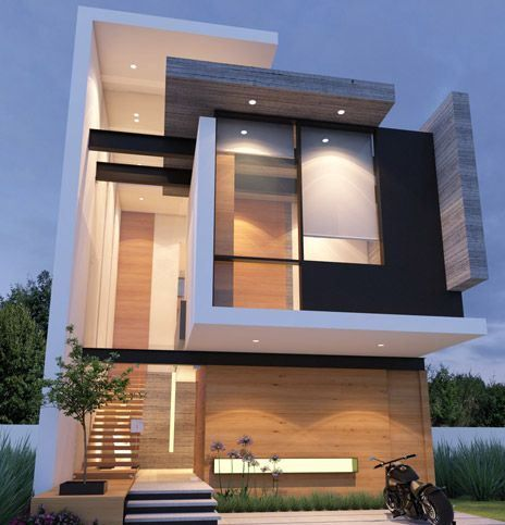 Modern Wood Black And White Elevation Good Home Idea, Beautiful And  Contemporary Architectural Design!