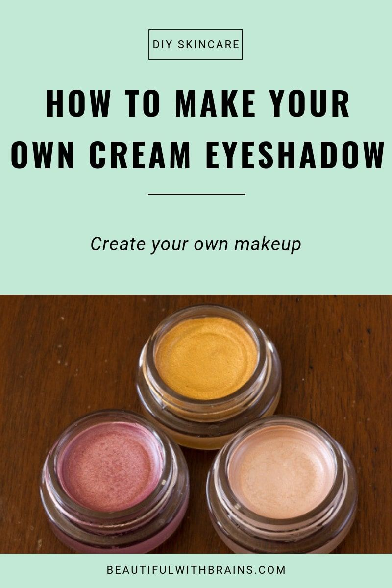Photo of DIY Beauty: Make Your Own Cream Eyeshadow