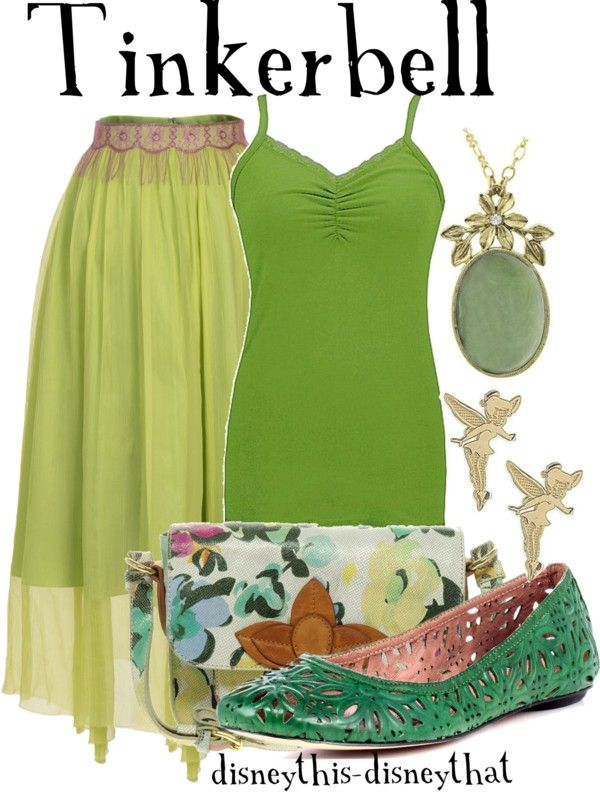 """""""Tinkerbell"""" by disneythis-disneythat ❤ liked on Polyvore"""